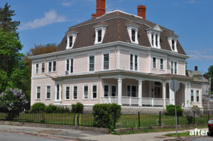 49 Orchard St., New Bedford, MA — Exterior and Interior Renovations