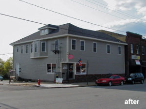 348 Main Street, Fairhaven, MA  — Converted Old Building Into a Mixed Use Site